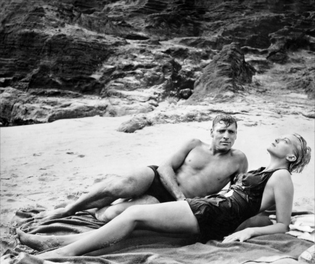 "Burt Lancaster and Deborah Kerr in ""From Here to Eternity"" (Fred Zinnemann, 1953)"