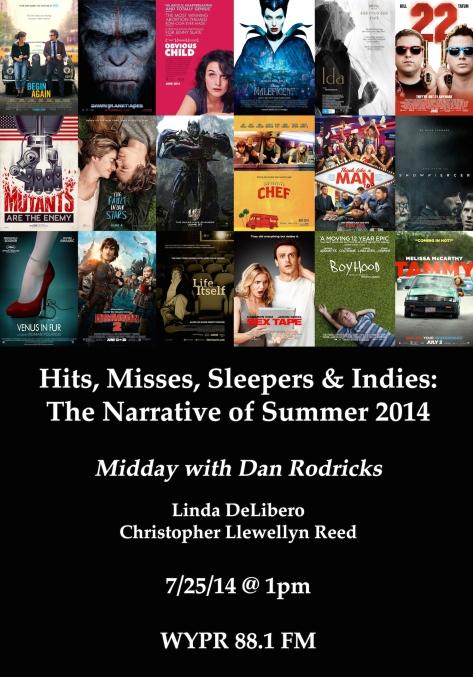Rodricks Summer 2014 Movies Blog Image