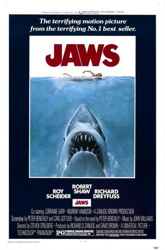 Jaws original poster