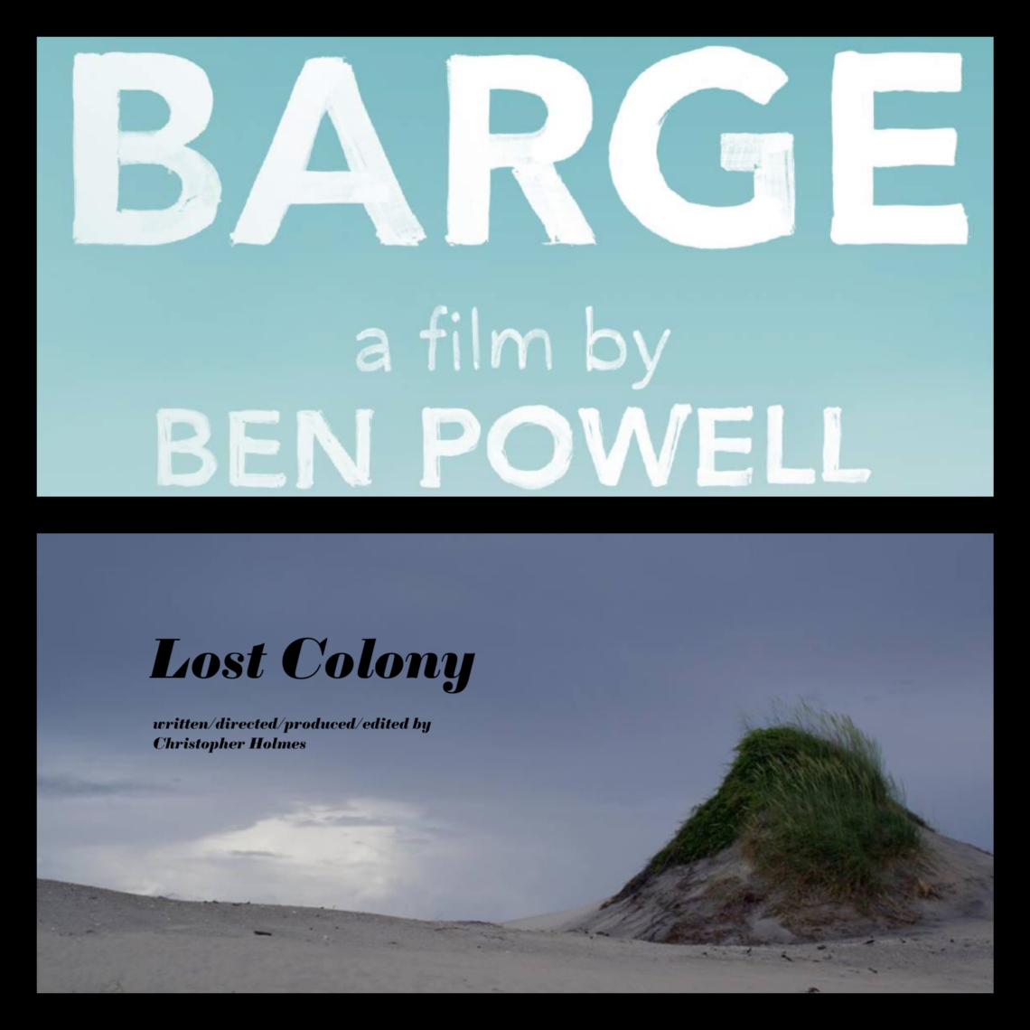 Barge and Lost Colony Collage