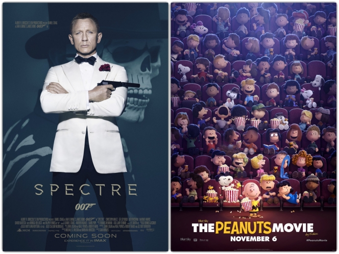 Peanuts Spectre Collage