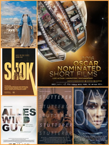 Oscar-Nominated Live-Action Shorts 2016