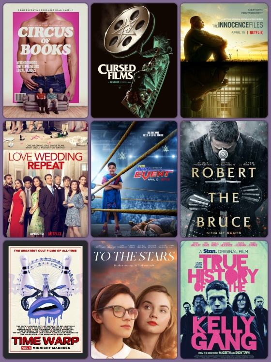 9 Reviews At Filmfesttoday Circus Of Books Cursed Films The Innocence Files Love Wedding Repeat The Main Event Robert The Bruce Time Warp To The Stars And True History Of The Kelly